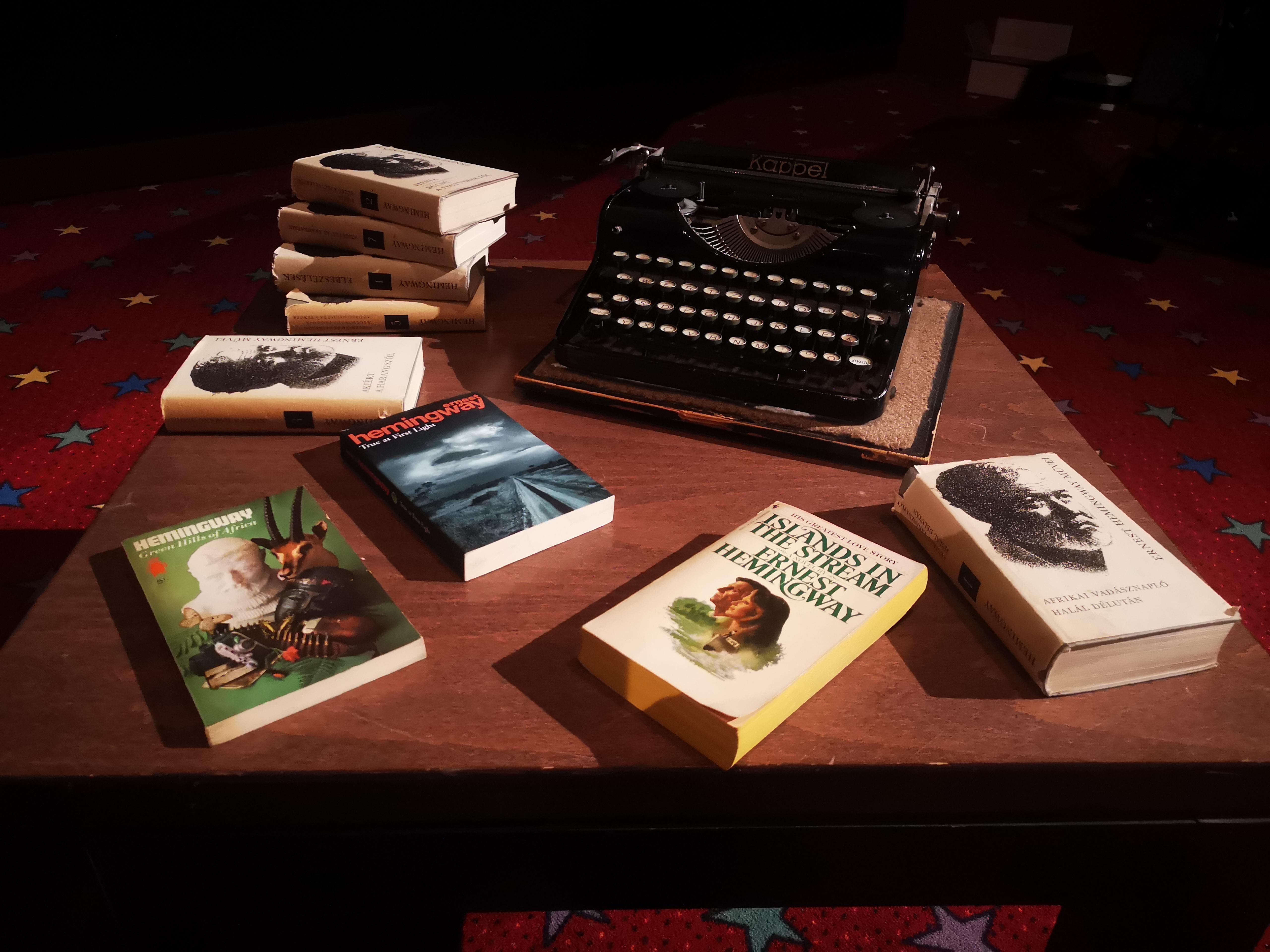 Egy este Hemingwayjel | Ernest Hemingway – Egy Nobel-díjas író lélektana