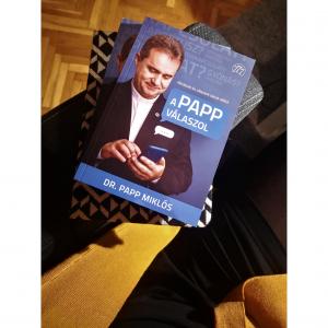 Nyerj dedikált könyvet! | Dr. Papp Miklós: A Papp válaszol – Kérdések és válaszok tabuk nélkül